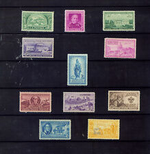 US STAMPS SC987-997 1950 COMMERATIVE STAMPS SET OF 11  MNH (T671)