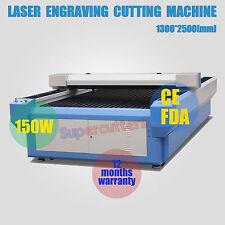 150W CO2 Laser Tube Laser Engraver Cutting Machine Laser cutter 4.3feet X 8feet
