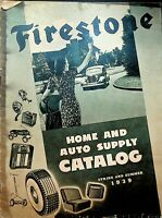 Firestone Home & Auto Supply Catalog Spring Summer 1939 Tires Radios Bicycles