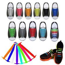 Lacci ELASTICI in Silicone Comodi Facili per Scarpe Running Classiche Sneakers