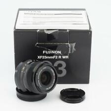 Fujifilm Fujinon Super EBC XF 23mm F/2 R WR Aspherical Lens