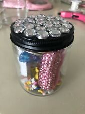 Bling Jar With Bling Stapler And Glitter Pens