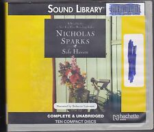 Safe Haven by Nicholas Sparks (2010, CD, Unabridged) Searching Past Finding Self