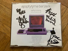 Apoptygma Berzerk - Kathy's Song (Come Lie Next To Me) (Maxi-CD) Inkl. Autogramm