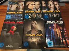 Dvd homeland Staffel 1+2+3+4+5 top Serie top Zustand