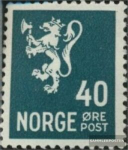 Norway 188 with hinge 1937 clear brands