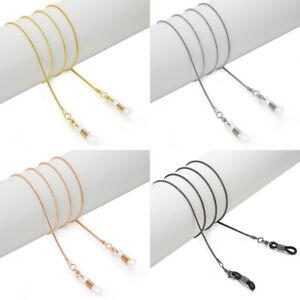 Metal Eyeglass Sunglasses Chain Cord Neck Strap Holder Hanging Chain Holder