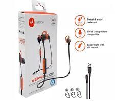 Motorola Verve Loop Wireless Stereo Earbuds Sweat/ Water Resistant Siri & Google
