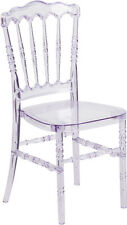(20 PACK) Commercial Quality Crystal Clear Stacking Napoleon Chiavari Chair
