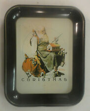 Norman Rockwell 1st Limited Edition 1975 Christmas Tray