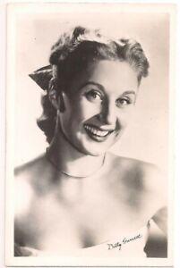 Postcard BETTY GARRETT American Actress Comedian, Annie Wright School Tacoma WA
