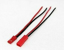 10PAIRS RC Plane airplane part JST connector plug male & female with cable