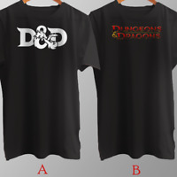 D&D Dungeons & Dragons Dice Fantasy Game T-Shirt Cotton Brand New