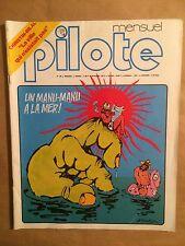 PILOTE MENSUEL - T39 : août 1977