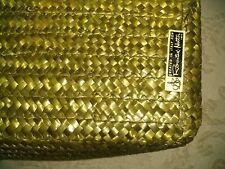 ROSENTHAL-NETTER Rectangular Wicker Basket ITALY Made Superb Quality 15