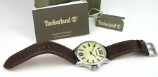 Timberland TBL.15079JYS/07 Men's Analogue Quartz Watch Brown Leather Strap