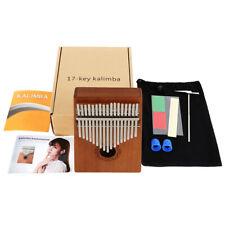 17 Tasten EQ Kalimba Daumen Thumb Piano Eingebauter Daumenklavier Schutz