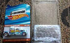 2015 Mexico Hot Wheels 8A Convention Race Team Convoy Custom Truck #21/30