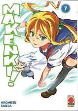 MANGA - Maken-ki! (Makenki) N° 7 - Manga Zero N° 15 - Planet Manga - NUOVO