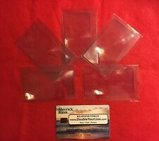 5 Piece, 3X Credit Card Size, Magnifier Fresnel Lens. Usa Seller