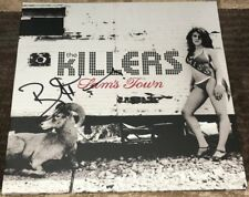 BRANDON FLOWERS SIGNED AUTOGRAPH THE KILLERS SAM'S TOWN VINYL ALBUM wEXACT PROOF