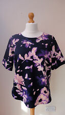 George Crew Neck Short Sleeve Floral Tops & Shirts for Women