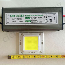 100W LED CHIP Cool White 5800-6200K + 100W Driver LED Constant Current IP65
