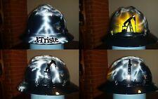 Oilfield Storm custom painted hard hat