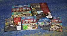 Stronghold Collection für PC alle 5 Teile + Addons BIG BOX Sammler TOP