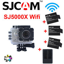 Sjcam Sj5000x Sport Camera elite 24fp 4K WiFi HD Subacquea 12MP Videocamera Nero