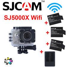 Original Sjcam Sj5000x elite WiFi Sony sensor 4K DV deporte Cámara Videocámara Yellow
