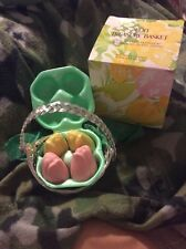 Vintage Avon NOS IN BOX TREASURE BASKET WITH FOUR SPECIAL OCCASION SOAPS B-14