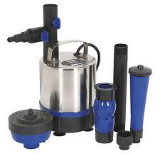 Estanque de la bomba de agua sumergible 3000ltr/hr De Acero Inoxidable Fuente circulación de filtración