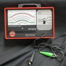 Mac Tools Tach Dwell Volts Meter Et805 4 6 or 8 Cylinder Great Condition