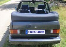 VW Golf 1 Cabrio Verdeck Persenning neu orig. Material schwarz (farbig mög.) A