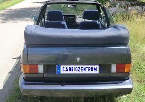 VW Golf 1 Cabrio Capot Couvre-capote original Matériel noir (couleur possible)