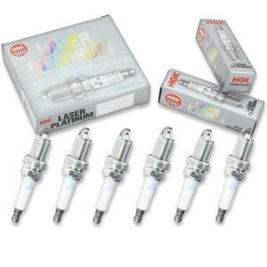 6 pcs NGK Laser Platinum Spark Plugs for 1995-2002 Honda Accord 3.0L 2.7L V6 hj