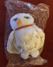 "Original Harry Potter ""Hedwig"" Owl Plush Key Ring Change Purse 3in New In Cello"