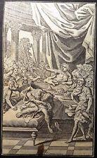 François CHAUVEAU Figure pour l'empoisonnement de Britannicus RACINE 1675