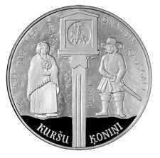 "NEU! 5 EURO PP Silber Munze Lettland (Latvia)  2018 ""Kurland Konini"" Vorferkauf!"