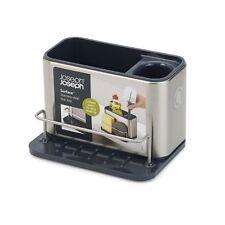 JOSEPH JOSEPH Surface Cutlery Drainer Stainless Steel Caddy Sink Area Organiser