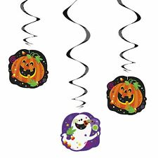 Halloween Hanging Swirl Party Decorations Happy Haloween Packs of 3
