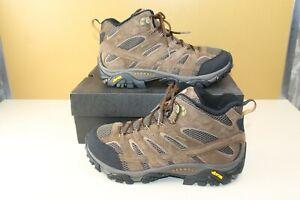 Merrell Waterproof MOAB 2 MID EARTH J06051W Wide Boot NEW Men's Size 10.5W w/box