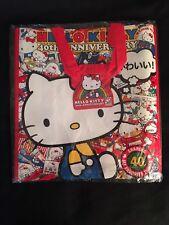 Hello Kitty Con 2014 Kawaii Red Tote bag NWT