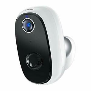 WiFi Wireless Security Camera Outdoor Rechargeable Battery IP CCTV Night Vision