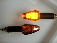 2X LED Turn signal Amber Visible form Side KAWASAKI GPX 600,GPZ 600, z1000 z750