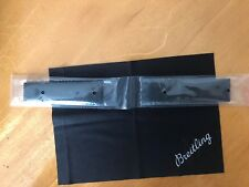 Breitling RUBBER AERO CLASSIC BLACK 256S 24/20 strap band 100% ORIGINAL