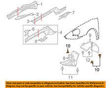 PORSCHE OEM 10-16 Panamera Quarter Panel-Wheelhouse Liner Screw 99907323109