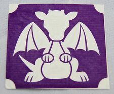 GT93 Body Art Temporary Glitter Tattoo Stencil Dragon
