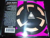 Alex Party Don't Give Me Your Life Australian Remixes CD Single